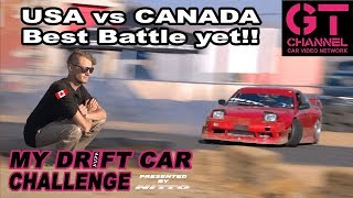 Download Drove Down from Canada to Battle! My Drift Car Challenge Eps.5 Presented by Nitto Video