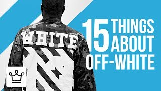 Download 15 Things You Didn't Know About OFF-WHITE Video