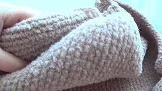 Download Шапка спицами связаная поперек (продолжение). Video