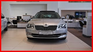 Download Skoda SUPERB laurin & klement 2019 Interior Exterior CLOSE UP Video