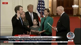 Download 🚨WATCH: Full Swearing-In Ceremony of Justice Brett Kavanaugh with President Trump 10-8-18 Video