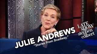 Download Dame Julie Andrews Makes A Grand Return To The Ed Sullivan Theater Stage Video