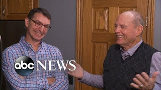 Download Father meets the son he never knew he had after Ancestry match Video