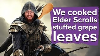 Download We cooked Elder Scrolls Online venison stuffed grape leaves Video