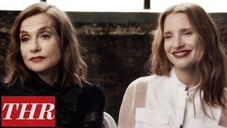 Download Isabelle Huppert & Jessica Chastain on First Cannes Film Festival | THR First, Best, Last, Worst Video