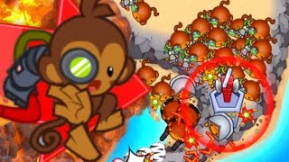 Download Bloons TD Battles - BOOMERANG GANG! CAN IT DEFEND?! - Bloons TD Battles Strategy Video