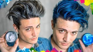 Download Does Hair Coloring Wax Work? | Testing Viral Hair Products | Mens Hair 2017 Video