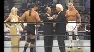Download Ric Flair stops Four Horseman infighting -24/2/97- Video
