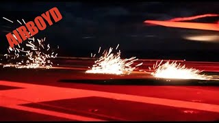 Download See Sparks Fly! Night Carrier Ops - USS Gerald R. Ford (CVN-78) Video