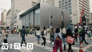 Download Apple's Newly Redesigned Store Has Huge Doors, a Genius Grove, and Creative Pros Video