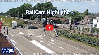 Download RailCam Highlight #59 Truck Run on Truckers Day Video