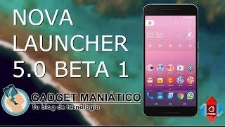 Download Nova Launcher 5.0 Beta Español - Consigue la misma apariencia que Pixel Launcher/Google Launcher Video