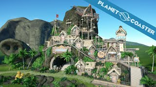 Download Planet Coaster Gameplay - Pirate Entrance - Elephant Park - Alpha 2 - No comment Video