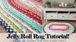 Download Official Jelly Roll Rug Tutorial Video