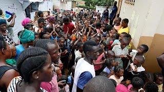 Download Sierra Leone mudslide survivors at risk of disease Video