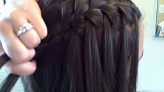Download The Waterfall Braid (DIY) | Cute Girls Hairstyles Video