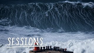 Download Big Wave Carnage From Nazaré Mega Swell | Sessions Video