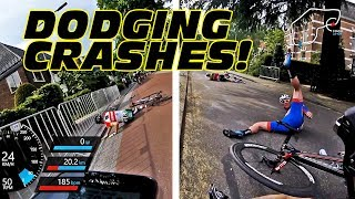 Download Dodging CRASHES in First ELITE MEN race!! - #cycling Holland Video