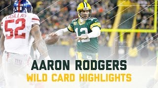Download Aaron Rodgers 362 Yards & 4 TDs! | Giants vs. Packers | NFL Wild Card Player Highlights Video