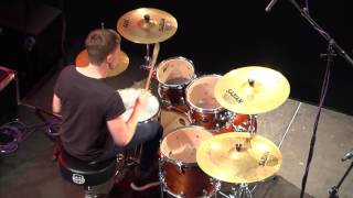 Download Carl Palmer drum masterclass highlights Video