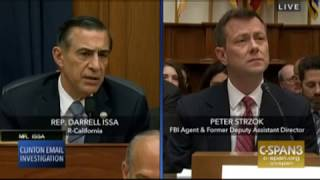 Download Issa asks Strzok to read personal texts July 12 2018 Video