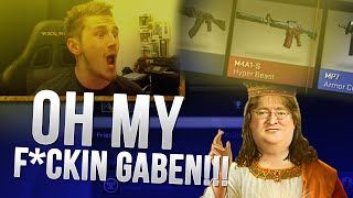 Download OH MY F*CKIN GABEN!!! (CS:GO Case Opening) Video