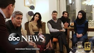 Download George and Amal Clooney Shine a Light on Syrian Refugee Crisis Video
