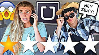 Download PICKED UP MY GIRLFRIEND IN AN UBER UNDER DISGUISE!! *She Ran* Video