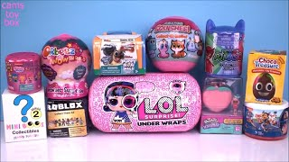 Download Unboxing Surprise TOYS LOL Under Wraps Roblox Shopkins Mini BOOS Puppy DOG PALS Paw Patrol DOLLS Video
