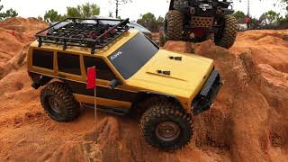 Download Trx4 and Axial SCX10II on a ″WOULD YOU DARE″ trail. Pt1 Video