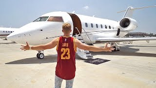 Download $25M DOLLAR PRIVATE JET Video