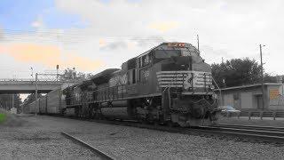 Download NS 291 under dark clouds rolls south in Stockbridge, Ga. Video