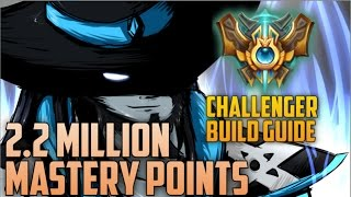 Download 2,200,000 MASTERY POINTS & BEST LOLSKILL Twisted Fate Main BUILD GUIDE- ″SSBM Hax″ NA Challenger Video