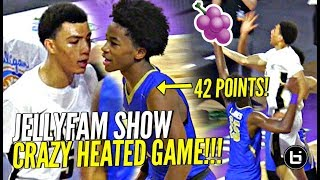 Download CRAZY OT BUZZER BEATER GAME!! JELLYFAM Jahvon Quinerly vs Sharife Cooper 42 POINTS! EPIC BATTLE Video