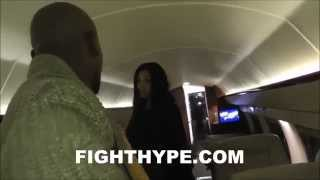 Download WELCOME ABOARD AIR MAYWEATHER: FLOYD MAYWEATHER'S PRIVATE JET Video