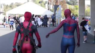Download Spidey-Pool at Armageddon Auckland 2016 - Day 3 Video