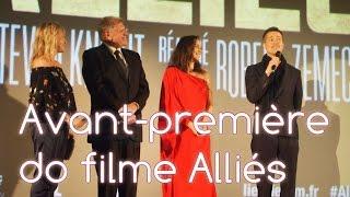 Download Avant-première Alliés, com Brad Pitt, Marion Cotillard & Robert Zemeckis Video