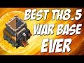Download Best TH 8.5 War Base Design Ever! | Attacked 10 Times in Clan War | Clash of Clans Video
