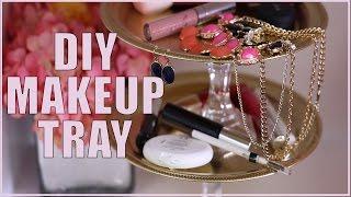 Download DIY Makeup Tray #DIYRoomDecor Video