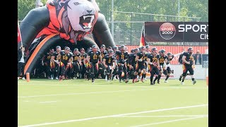 Download EM Qualifikation U19 Nationalmannschaft 2017 American Football Video