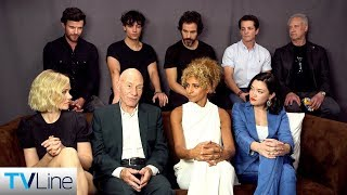 Download 'Star Trek: Picard' Cast on the Return of Patrick Stewart's Iconic Captain | Comic-Con 2019 | TVLine Video