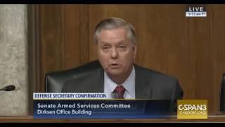 Download Lindsey Graham and Gen. Mattis Video
