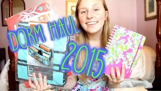 Download College Dorm Haul 2015 | Things I am Bringing to College! Video
