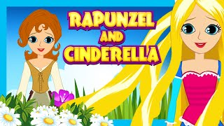 Download Rapunzel and Cinderella - Fairy Tales For Kids | Kids Story - Full Video