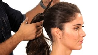 Download How to Do a Volumized Ponytail | Salon Hair Tutorial Video