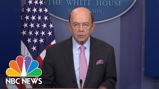 Download Commerce Secy. Wilbur Ross Announces New Tariff On Canadian Lumber | NBC News Video