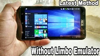Download [Without Limbo]How to Install Windows 10/8/8.1/7/XP/Linux OS on Any Android Phone.!![Fastest Speed] Video