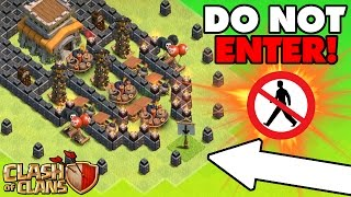 Download Clash Of Clans | EPIC TROLL BASE ″No Man's Land″ | Town Hall 8 Extreme Troll Base 2016! Video