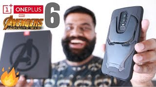 Download OnePlus 6 Avengers Edition Unboxing and First Look - Powerful Beauty!! 🔥🔥🔥 Video
