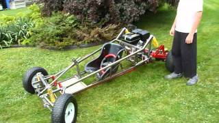 Download Homemade Off Road Go Kart upgraded with a 9HP engine (Pictures & Video) Video